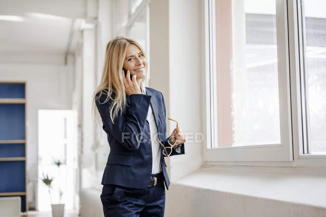 Бізнес-леді чемпіонату з фрірану — стокове фото