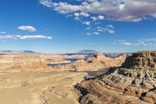 EUA, Arizona, área de Recreação Nacional Glen Canyon, Lago Powell, ponto de Alstrom — Fotografia de Stock