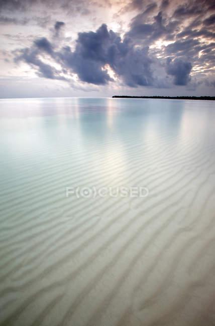 Bavaro Beach при сходом сонця — стокове фото