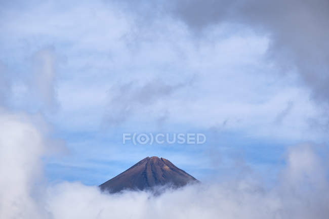 Pico del Teide, view from the west, Tenerife, Canary Islands, Spain — Stock Photo