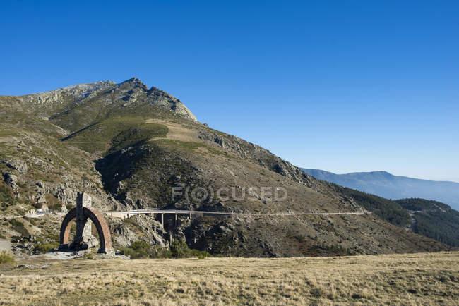 Іспанія, Кастилья-Леон, Пуерто-дель-Піко гірського ланцюга — стокове фото