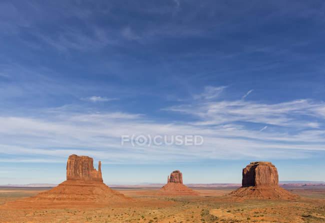 США, Сполучені Штати Америки, південно-захід, плато Колорадо, Юта, штат Арізона, навахо бронювання, Долина монументів — стокове фото