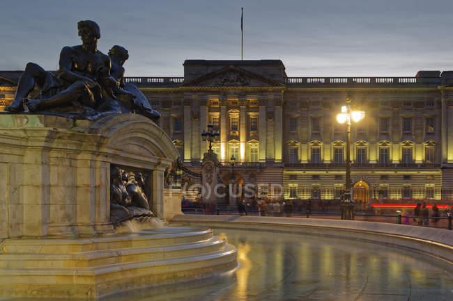 Buckingham Palace, Londra, Inghilterra, Grobritannien, Europa — Foto stock