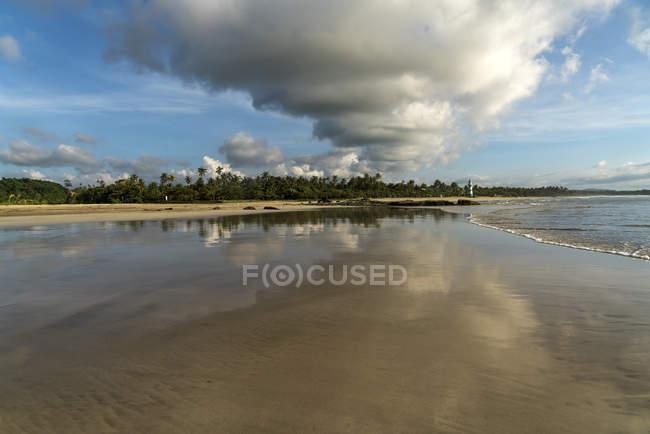 Піщаний пляж, Ngwesaung, М'янмі, Азії — стокове фото