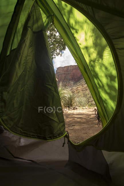 США, штат Невада, Национальный парк Гранд-Каньон, кемпинг палатки — стоковое фото