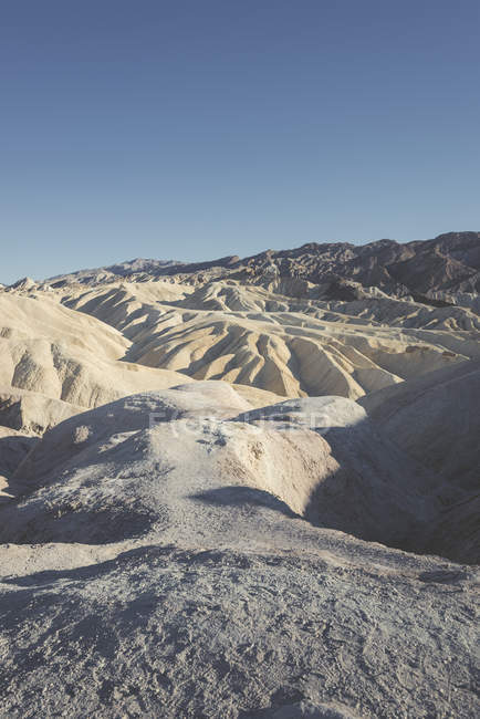 États-Unis, Californie, Death Valley National Park, Zabriskie Point — Photo de stock
