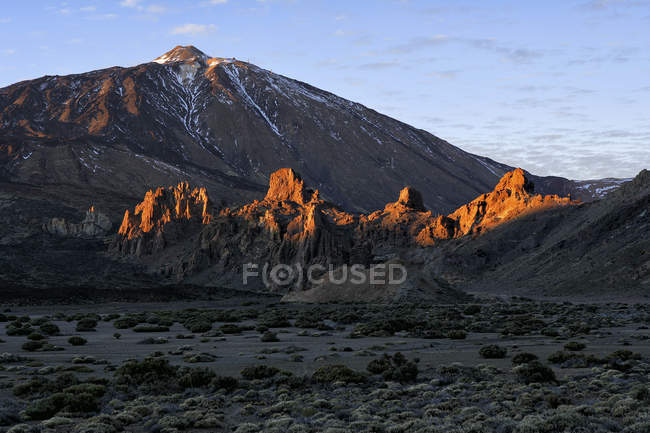 Spain, Tenerife, landscape at Teide National Park — Stock Photo