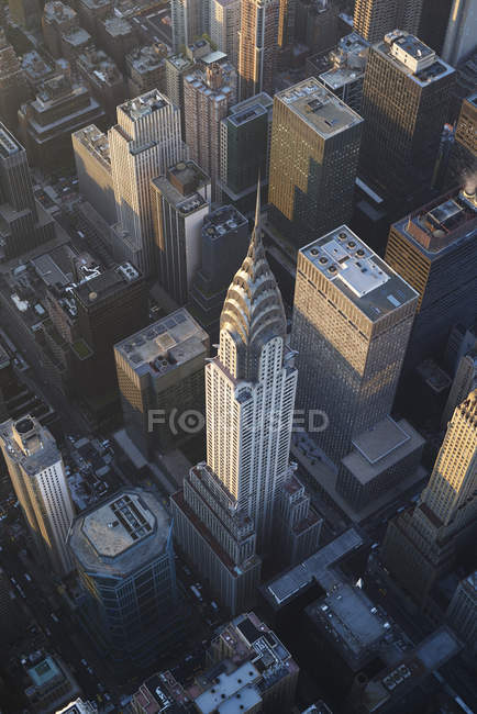 USA, new york state, new york city, chrysler building — Stockfoto