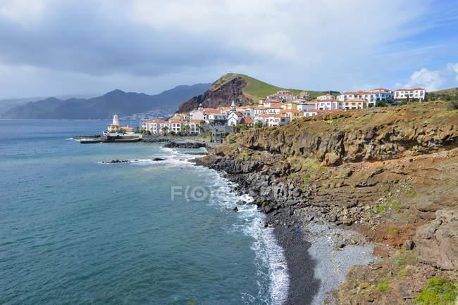 Vila de Portugal, da Madeira, na Península de Ponta Sao Lourenco — Fotografia de Stock