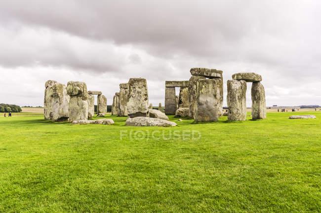 Великобритания, Англия, Уилтшир, Стоунхендж — стоковое фото