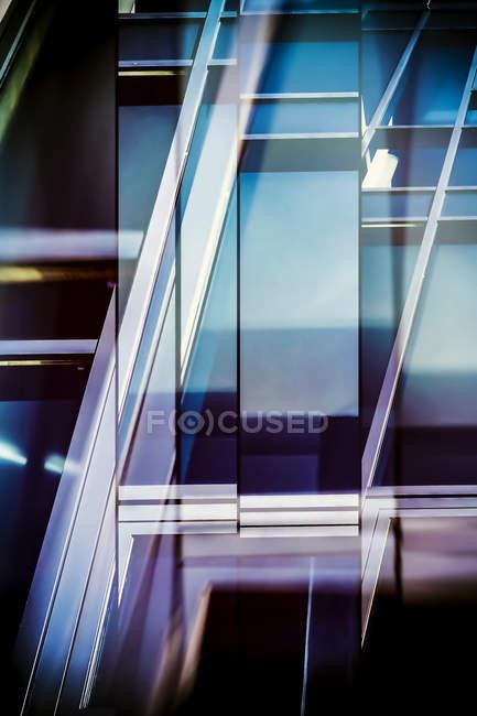 Modern architecture, 3D Rendering, full frame — Stock Photo