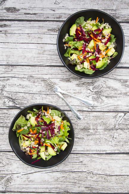 Salade automnale avec laitue — Photo de stock