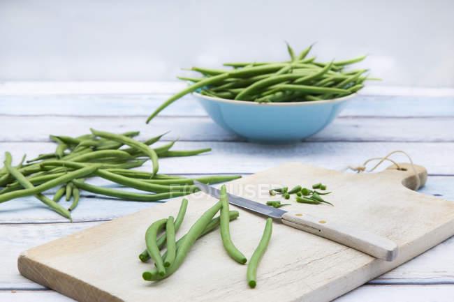 Fresh Green beans — Stock Photo