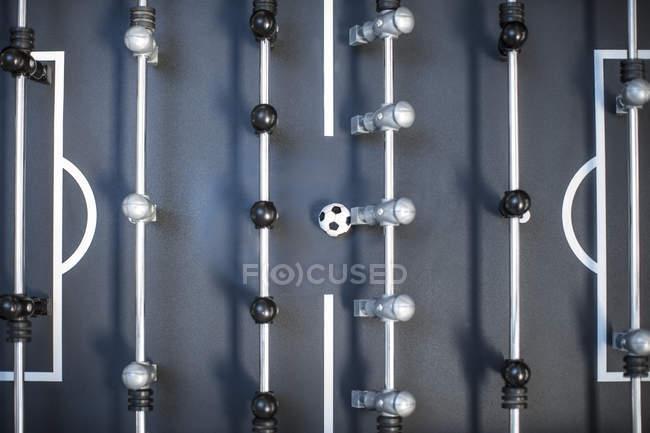 Primer plano de la mesa de futbolín moderna - foto de stock