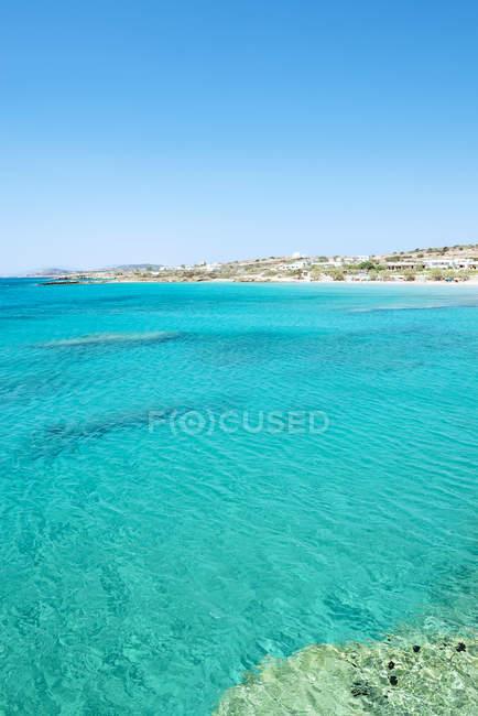 Greece, Koufonissi, Clear water of the Aegean Sea — Stock Photo