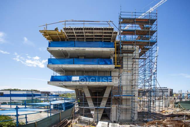 Città del Capo, Sud Africa, cantiere per uffici — Foto stock