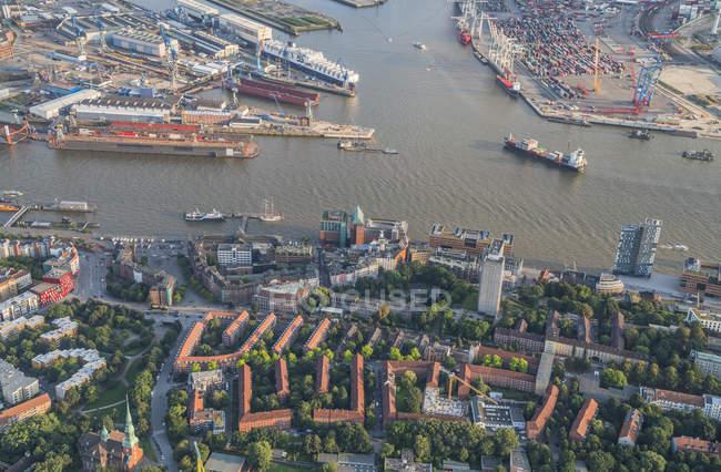 Quartiere Altona ad Amburgo — Foto stock