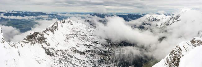 Germany, Bavaria, Allgaeu, Allgaeu Alps, winter onset — Stock Photo
