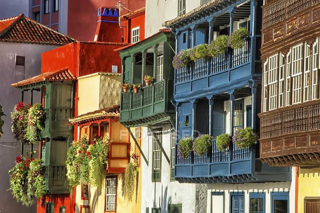 Città vecchia, La Palma — Foto stock