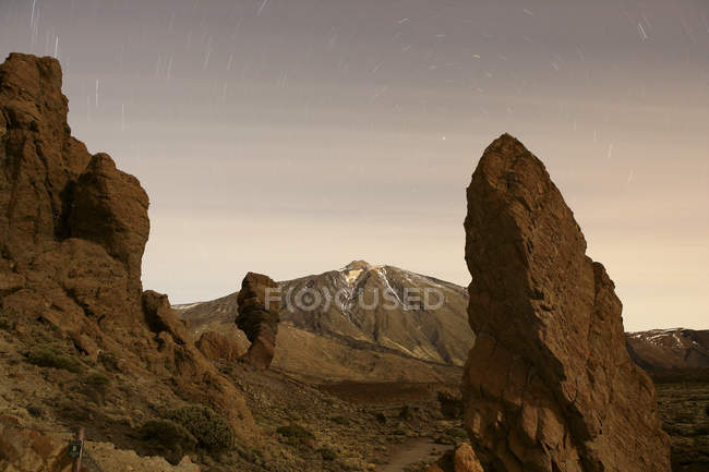 Spain, Tenerife, mountainscape at Teide National Park — Stock Photo