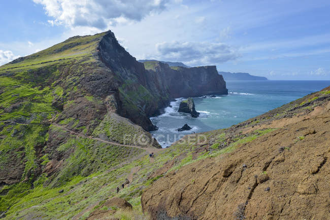 Portogallo, Madera, riserva naturale Ponta Sao Lourenco, penisola sulla costa orientale — Foto stock
