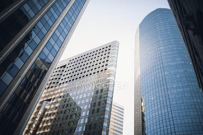 Rascacielos de cristal, San Francisco - foto de stock