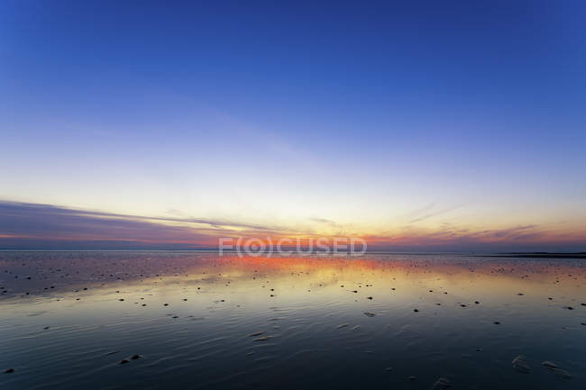 Gasford Bay at sunset — Stock Photo
