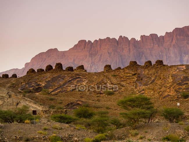 Escavação à noite, Omã — Fotografia de Stock