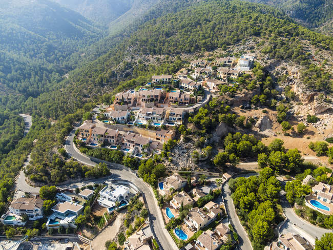 Spain, Mallorca, Aerial view of Palma de Mallorca — Stock Photo