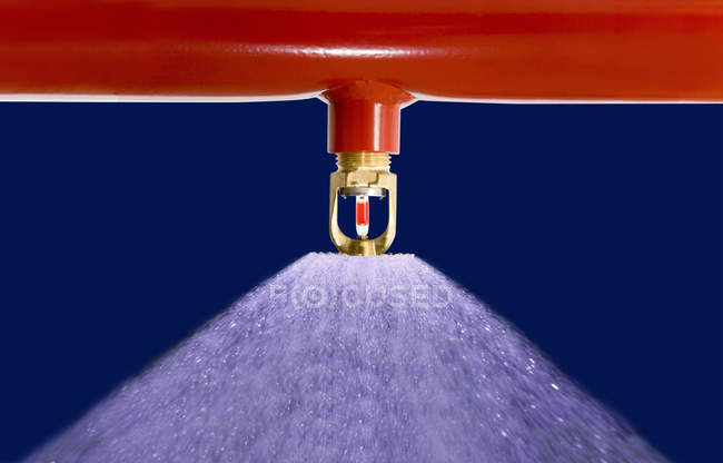 Close up of Sprinkler system at work — Stock Photo