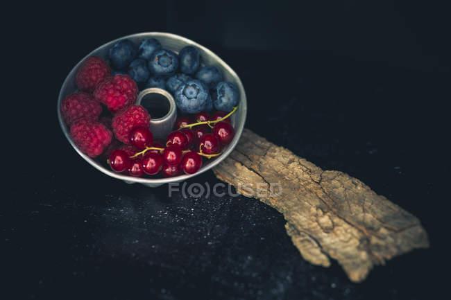Торт олово малины — стоковое фото