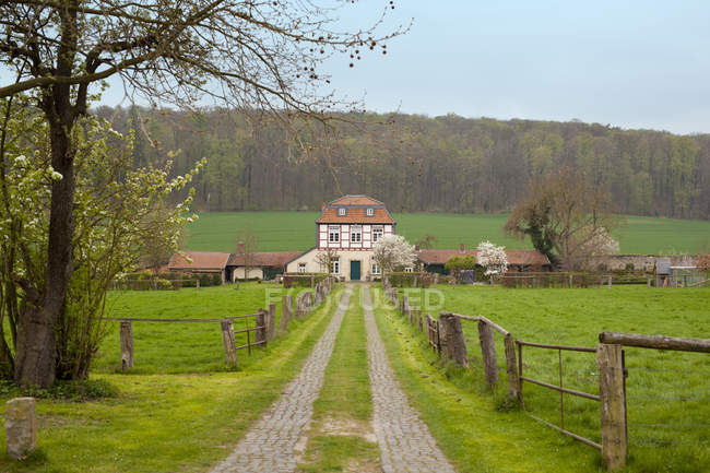 Carriage house, Lower Saxony — Stock Photo