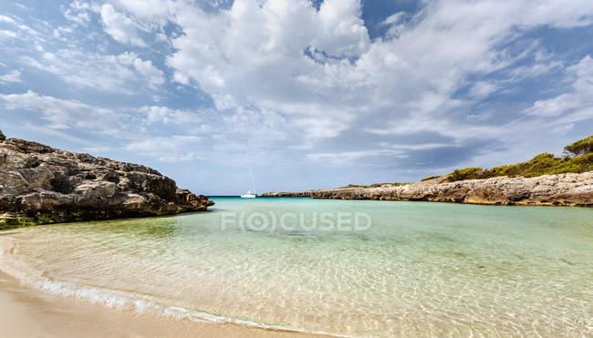 Minorca, spiaggia di Talaier — Foto stock