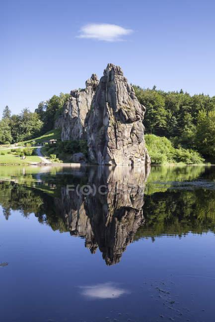 Камень песчаник скальное образование, Германия — стоковое фото