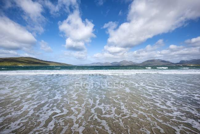 Royaume-Uni, Écosse, île de Harris, Leverburgh, Luskentyre Beach — Photo de stock