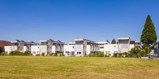 Residental houses, Fellbach — Stock Photo