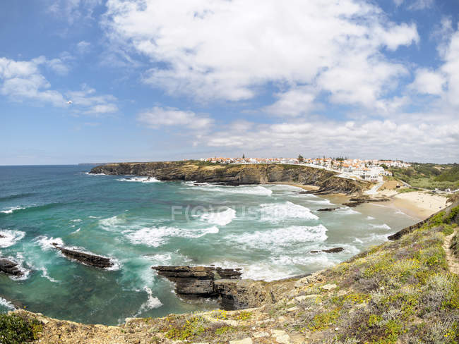 Praia da Zambujeira do Mar — Fotografia de Stock