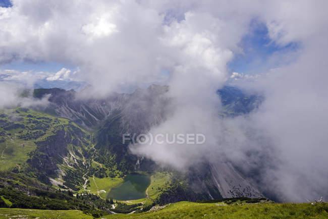 Lago de Gaisalp inferior, Baviera — Fotografia de Stock