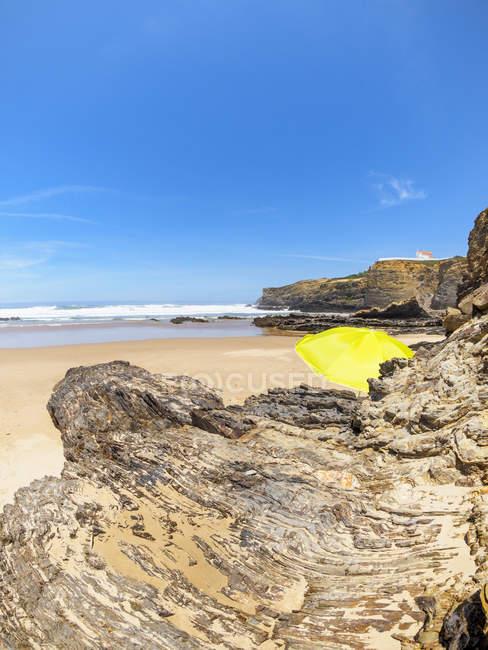 Zambujeira mar praia — Fotografia de Stock