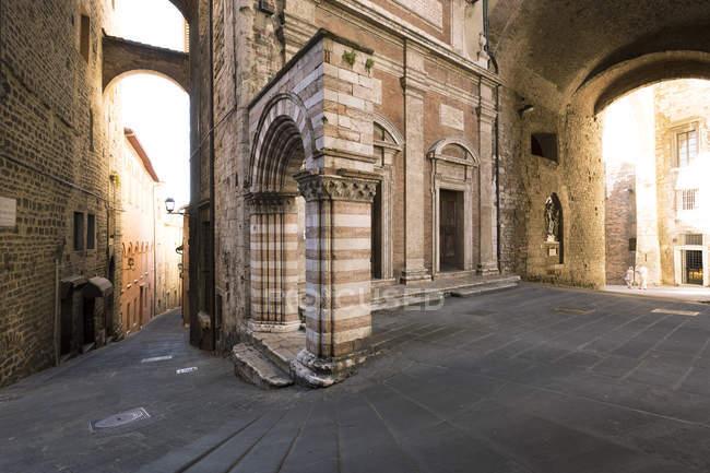 Via Antonio Fratti, Umbria — стокове фото