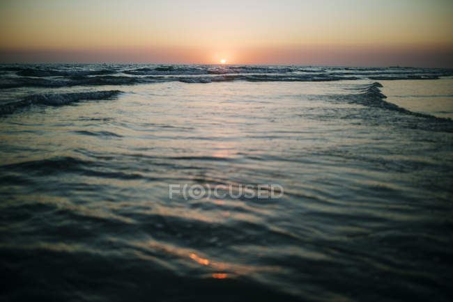 View of Seascape at sunset — Stock Photo