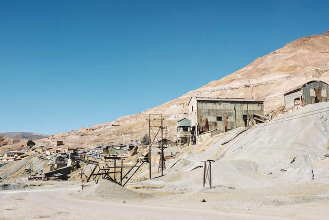 Bolivia, Potosi, Cerro Rico miniera d'argento — Foto stock