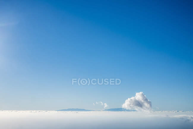 Clouds at sky during daytime — Stock Photo
