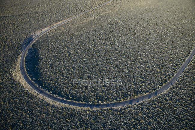 США, штат Невада, аэрофотоснимок Красной Рок Каньон национальной области сохранения — стоковое фото