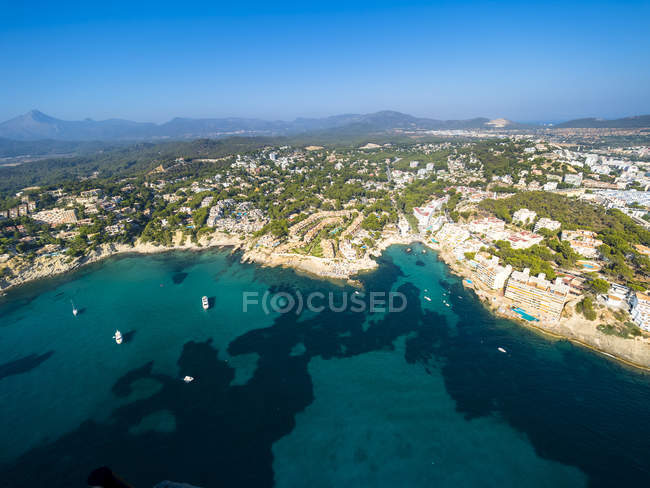 Spagna, Isole Baleari, Maiorca, Cala Blance, Costa de la Calma — Foto stock