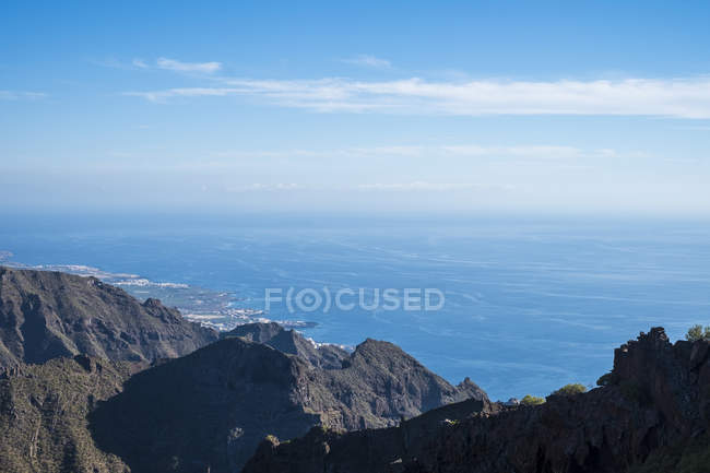 Spain, Tenerife, Teno mountains near Masca — Stock Photo