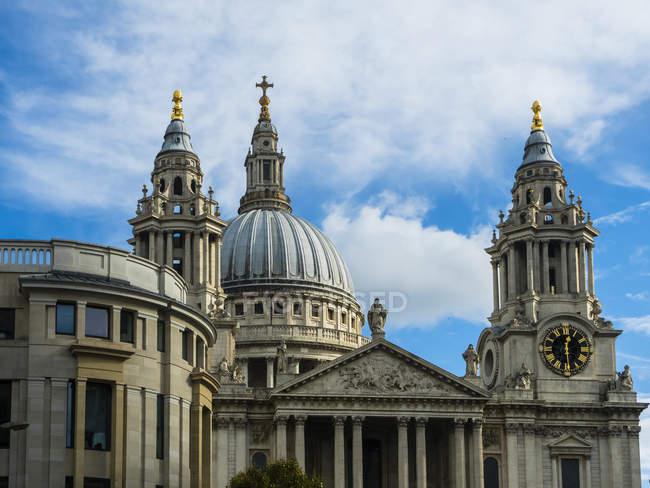 Royaume-Uni, Londres, Cathédrale St Paul — Photo de stock