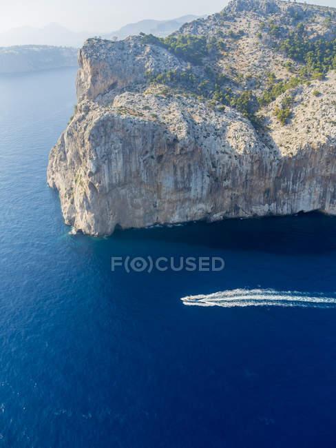 Spagna, Isole Baleari, Maiorca, Costa rocciosa vicino Andratx — Foto stock