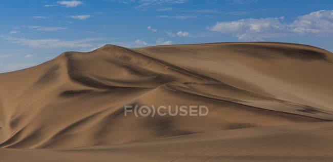 Намибия, Свакопмунд, пустыня Намиб, вид на пустыню дюн — стоковое фото
