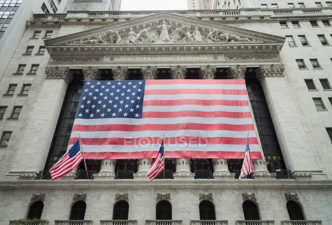 EUA, Nova York, New York Stock Exchange — Fotografia de Stock